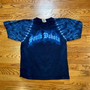 VTG tie dye South Dakota shirt